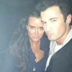 Ryan with Kyle Richards from Real Housewives of Beverly Hills